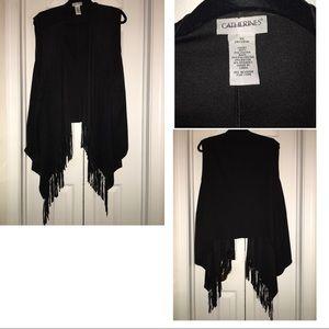 1071c4a782d Women s Plus Size Fringe Vest on Poshmark